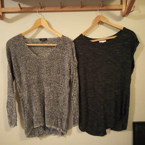 Babaton Jarrod sweater and Wilfred Anvers t-shirt